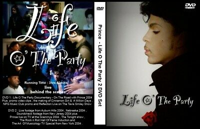 Prince - 2 DVD set -  2004 pro-shot footage  . Musicology . Life o the party