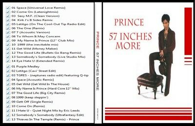 Prince - 13 CD set  -  extended singles  & remixes 1980-2000