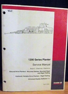 Case-IH 1200 Planter Service Manual Book 2 Electrical/Electronic Rac 6-16040