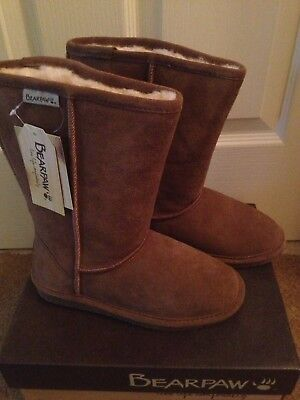 853142ebed4f NEW BEARPAW Youth Girls EMMA Tall 9