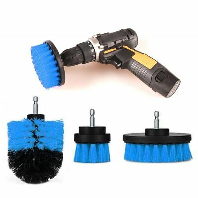 1/3pcs Scrubber Bristle Car Cleaning Power Drill Brush Tile Brushes Cleaner