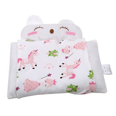 Soft Baby Pillow Prevent Flat Head Anti Roll Neck Support Sleep Cushion 6A