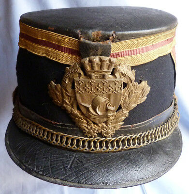 French Late-19Th Century Republican Guard Shako Helmet