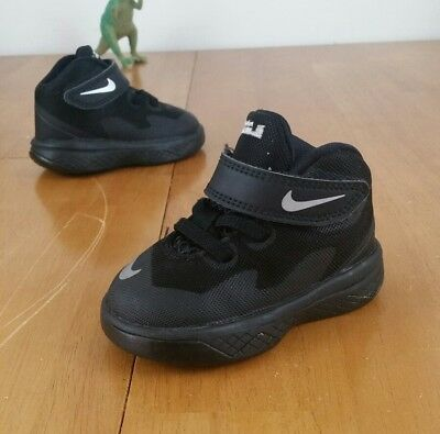 new styles 1f344 36277 Nike Lebron Soldier VIII (TD) Toddler Shoes Black Black Size 4C