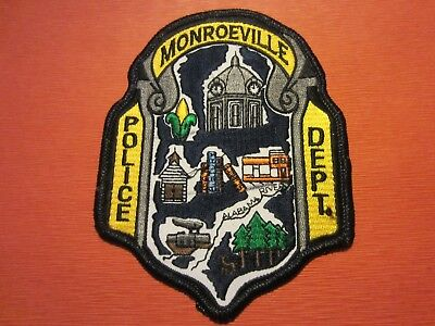 Collectible Alabama Police Patch, Monroeville,New
