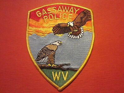 Collectible West Virginia Police Patch, Gassaway,New