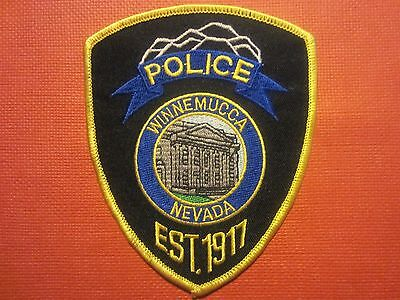 Collectible Nevada Police Patch Winnemucca New