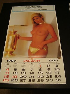 Vintage 1987 Advertising Calendar - Ziegler Garage