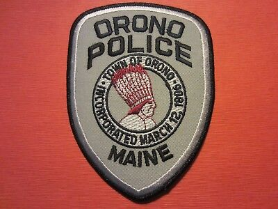 Collectible Maine Police Patch, Orono,New