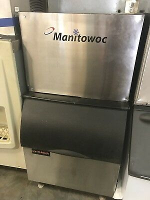 Manitowoc Ice Cube Machine Maker 650 lb SD0604A, Insulated Bin Included