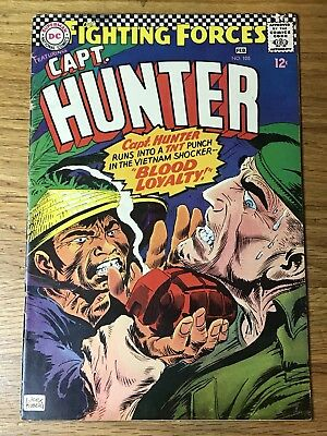 Our Fighting Forces #105 (Jan-Feb 1967, DC) FN+ Captain Hunter