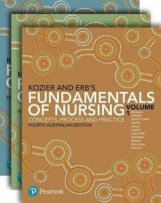 NEW Kozier and Erb's Fundamentals of Nursing By Audrey Berman Paperback