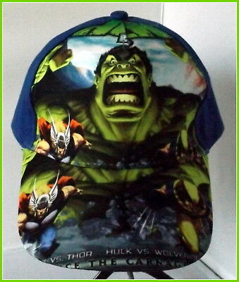 The Incredible Hulk Baseball Cap - Top Quality 100% cotton.