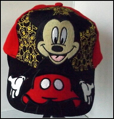 Mickey Baseball Cap - Top Quality 100% cotton.