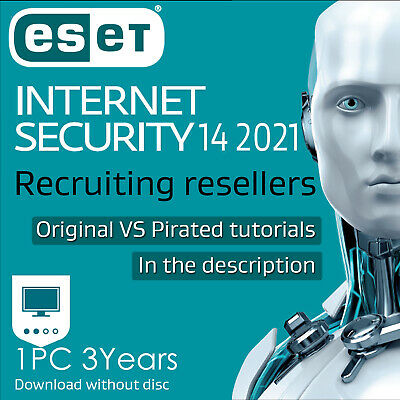 ESET Internet Security 13 1 2 3 years Internet Security 2020 Download edition