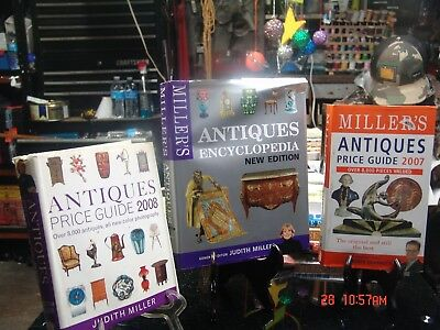 Judith Miller's Three Antiques Books