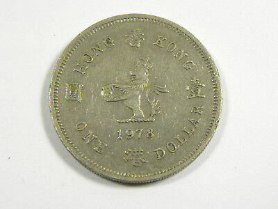 1 Dollar Hong Kong 1978 #6540