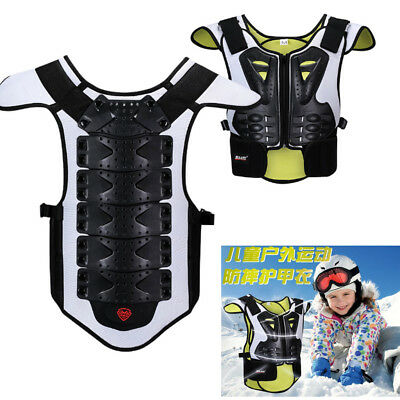 Kids skiing Sport Vest Chest Back Protector Street cycling Children Body Armor