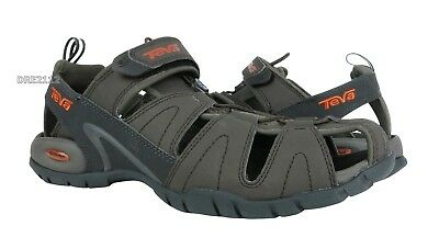 9b7742ccfebb4a TEVA DOZER 3 Black Olive Sport Sandals Water Shoes Mens Size 10  NEW ...