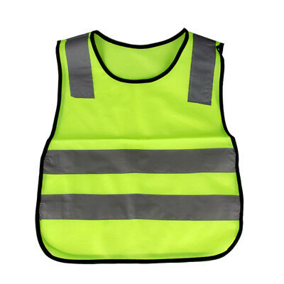 Universal Outdoor Safety Vest for Childern Students High Visibility Reflective L