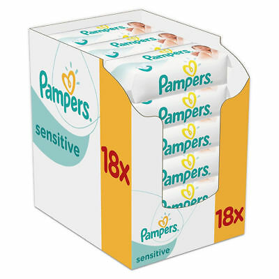 Pampers Feuchttücher Sensitive 1008