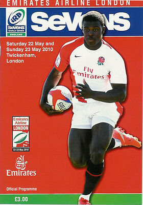 WORLD SERIES RUGBY SEVENS - LONDON 2010 RUGBY PROGRAMME Twickenham - 22 & 23 May