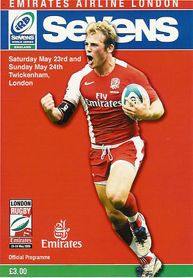 WORLD SERIES RUGBY SEVENS - LONDON 2009 RUGBY PROGRAMME Twickenham - 23 & 24 May