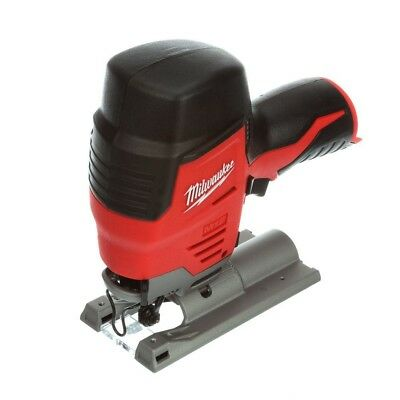 Milwaukee Jig Saw 3/4 in. 12-Volt Lithium-Ion Compact Keyless Blade (Tool-Only)