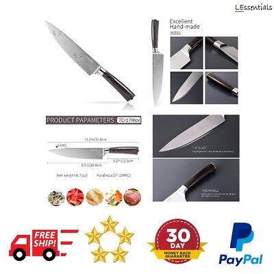 8 Inch Chef Knife Professional Kitchen High Carbon Stainless Steel Ultra-Sharp