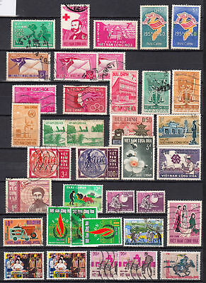 Vietnam great group / lot of 1960 -1970 issues CV $124.00  CW2-35
