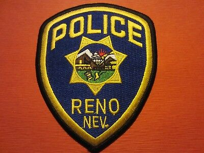 Collectible Nevada Police Patch, Reno,New
