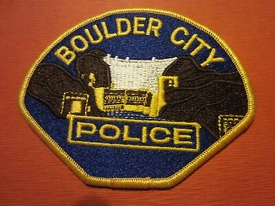 Collectible Nevada Police Patch,Boulder City, New