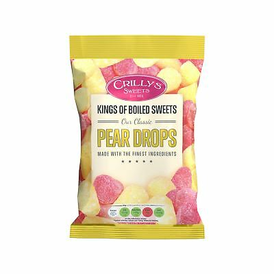 Crillys Pear Drops (160g) British Sweets/Candy