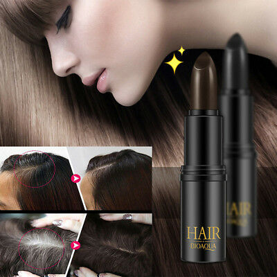 Lady Temporary Cosmetic Cover Your Grey White Hair Touch Up Hair Color Lipstick