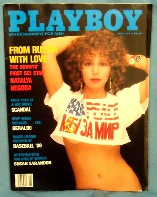 "Vintage ""PLAYBOY""  Magazine ~ May  1989 ~"