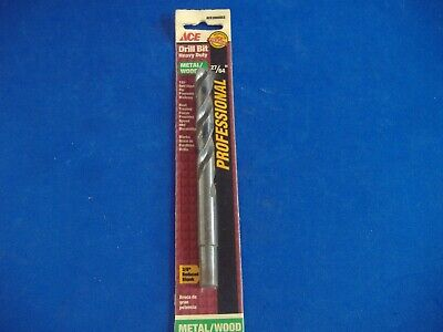 "Vermont American 27/64"" Black Oxide High Speed Steel Drill Bit Hss Bits Usa Made"