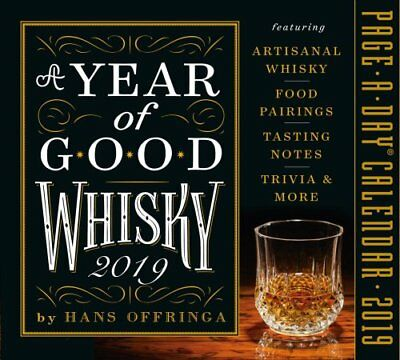 2019 a Year of Good Whisky Page-A-Day Calendar by Hans Offringa 9781523503216