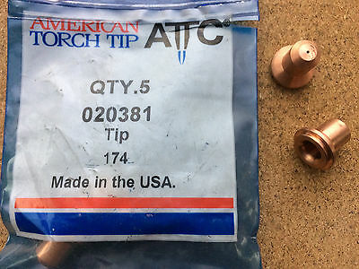Plasma Cutting Tip 020381 American Torch Tip PAC110T Multi Qty