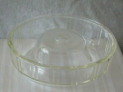 30s/40's Round Queen Anne GLASBAKE Dish Ring/Mold - Great Condition!