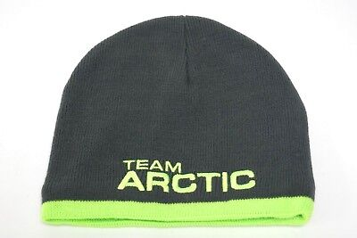 Youth Kids Lime Green & Gray Team Arctic Cat  Beanie Hat 5279-565