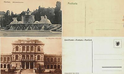 Lot of 16 Early / Vintage Munich , Germany Postcards #102478 R