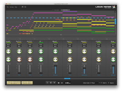 RE-COMPOSE Liquid Notes for LIVE Create perfect harmony in Ableton LIVE
