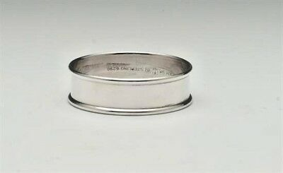 "Gorham Sterling Silver Napkin Ring #6290, 1/2"" Wide"