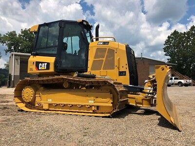 2015 Caterpillar D5K2 LGP Crawler Dozer Cab AC Cat 6 Way Blade Diesel Wide Track