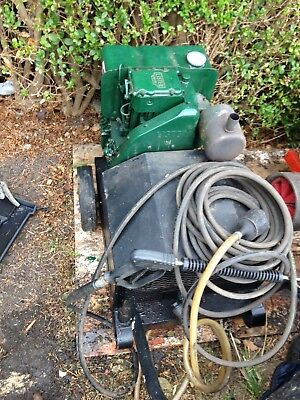 Lister diesel pressure washer with a CAT PUMP