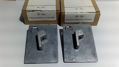 2 Rochester Midland No25016000 Coin Mechanisms For J8 Tampon Vending Machines