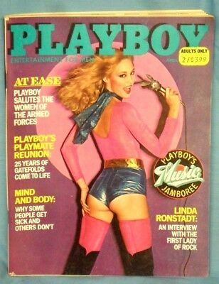 "Vintage ""PLAYBOY""  Magazine ~ April  1980 ~"
