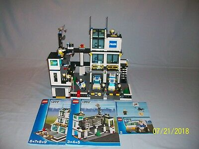 Lego Set 7744 Police Headquarters City Town W Instructions 100