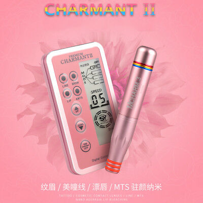 Microblading Charmant2 Permanent Makeup Tattoo Eyebrow Lip MTS Machine Cartridge