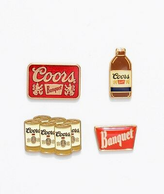 Brixton Coors Pin Pack Flight - 4 Pack